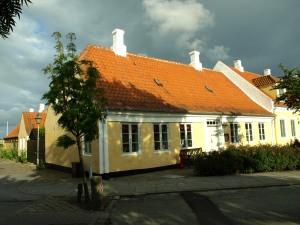 Huset med baghus.